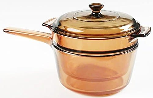 corning visions double boiler cook pot for melting chocolate
