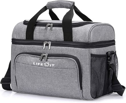 Lifewit Collapsible Cooler Bag for Picnic