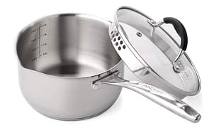 Avacraft stainless steel with Glass lid