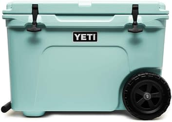Yeti Tundra Haul Wheeled Cooler that keep Ice for days
