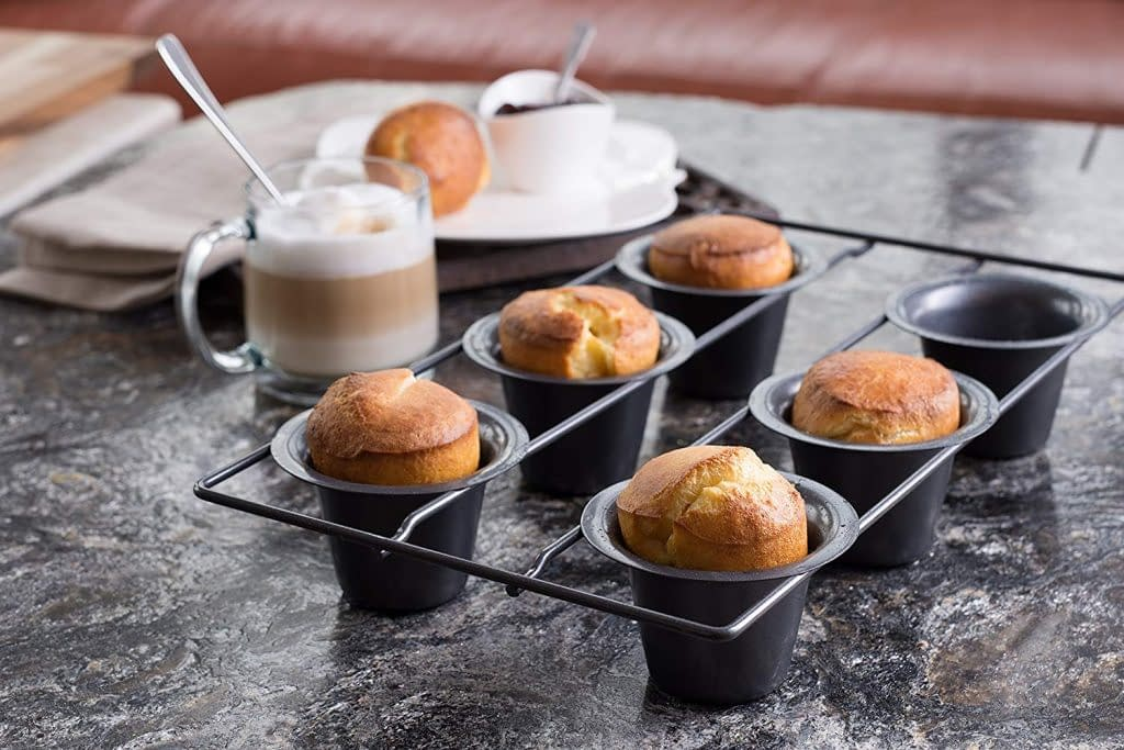 Non-stick bellemain popover pan 6 cups