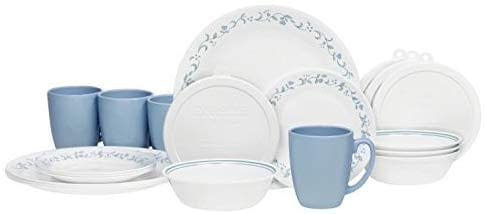 Country Cottage Dinnerware sets by Corelle that is lead and cadmium free