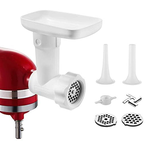 Kitchenaid food and meat grinder machine with accessories