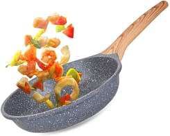 Best non stick omelette skillet with soft touch handle and induction compatible.