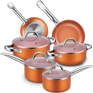 Best type of non stick cookware sets pots and pans to cook with
