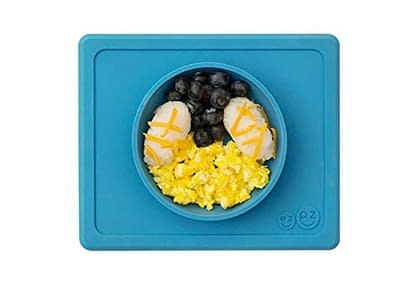 Ezpz Silicone mini bowl for Toddlers and Babies that sticks to table