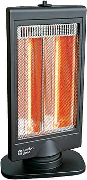 Electric Oscillating Halogen Radiant Heater