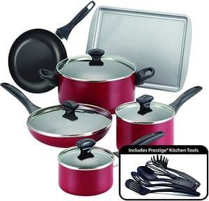 Farberware Dishwasher safe Nonstick Cookware Pots and Pans