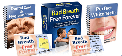 natural cure bad breath booklet