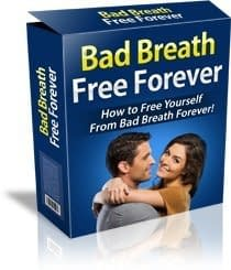 treatment booklet for bad breath from mouth