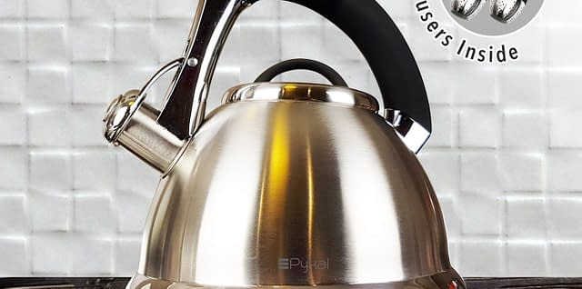 pykal kettle for glass cooktop