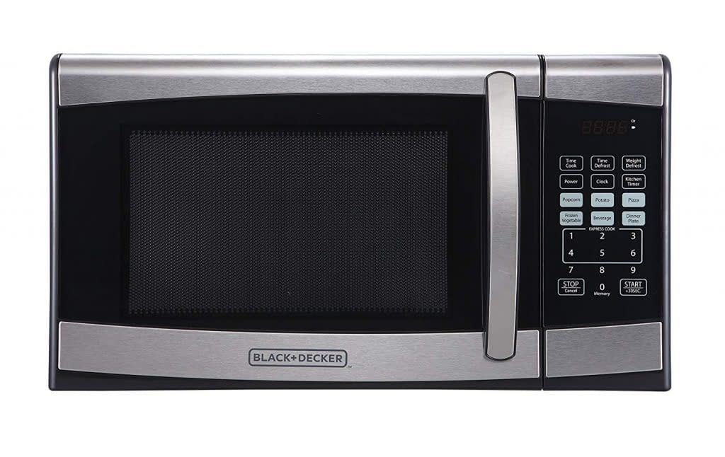 Black and decker stainless steel oven