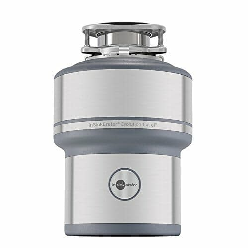 InSinkErator Garbage Disposal Continous Feed 1HP size. Sample picture of another size of a garbage disposal