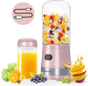 Portable Mini Blender for Smoothies, Small blender for Office and Travel