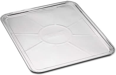 Disposable foil oven liners for cooking, baking, roasting and Grilling.