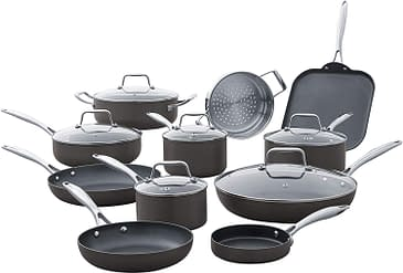 Kitchen cookware sets Hard Anodized non-stick Aluminum Pots and Pans to cook with