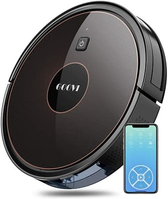 Goovi Robotic Vacuum Cleaner with Wi-fi