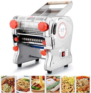 Where to buy this Stainless Steel Commercial Electric Noodle Making Machine? Click the link in this Article.