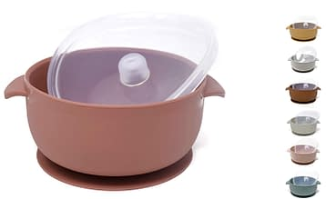 Toddler Silicone Baby Bowl