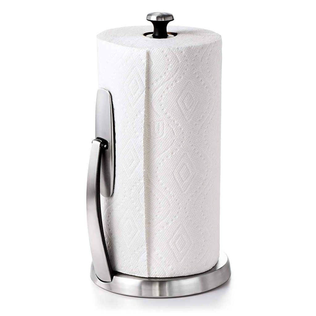 OXO good grip standing paper towel holder