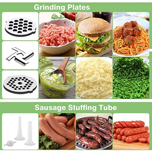 sample picture of the kitchenaid food or meat grinder machine used for different kinds of meat and food grinding
