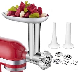 Durable food and meat processor KitchenAid Stand Mixers with Useful Mixer Accessory