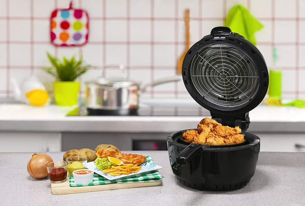 Elite platinum quart electric digital fryer for chicken