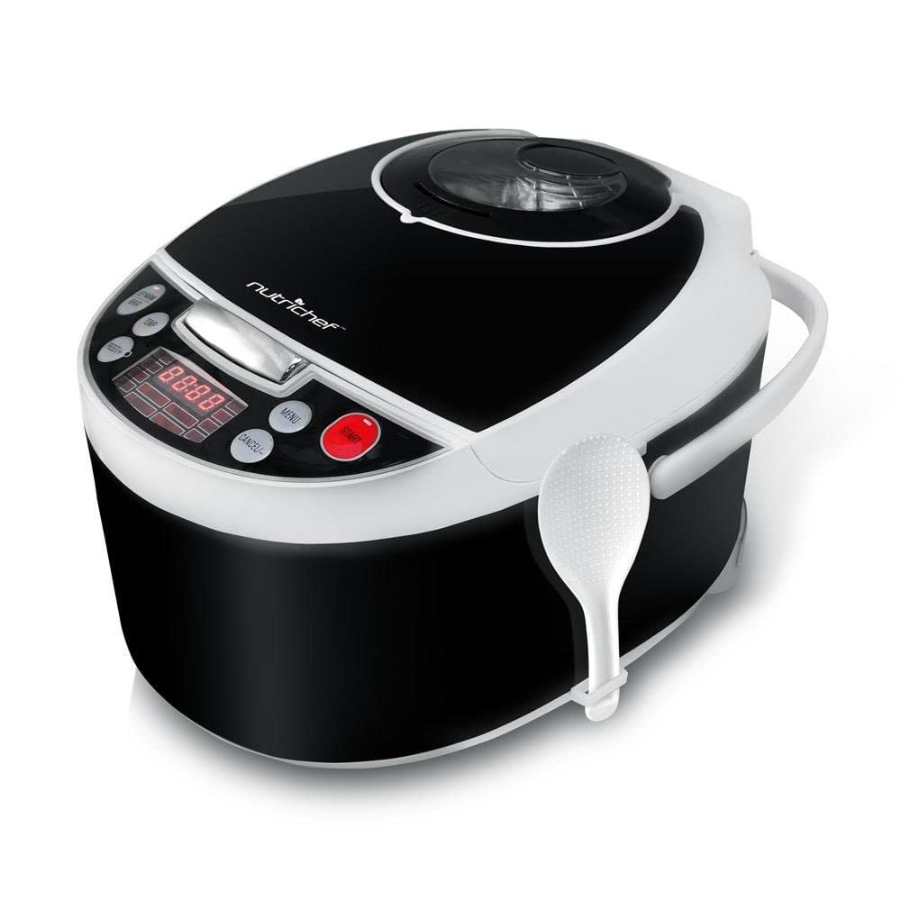 Nutrichef Electric pressure countertop multi - cooker
