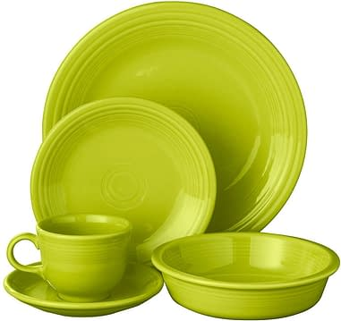 Lead free glaze vitrified fiesta Dinnerware oven safe sets