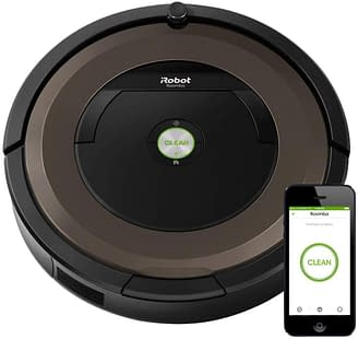 Roomba 890 Robotic Vacuum for pet hair, carpets and hardwood floors