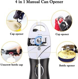 4 in 1 Can and Tin Opener
