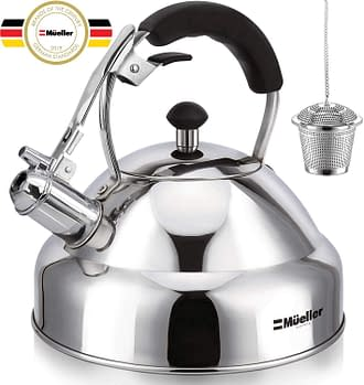 Stovetop Whistling Stainless Steel kettle