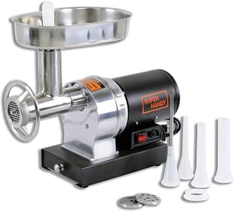 Superhandy Stainless Steel 480lbs Electric Meat Grinder Mincer Sausage Stuffer