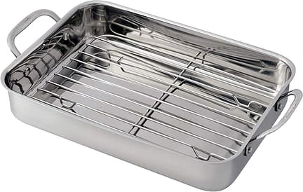Cuisinart Pan with Stainless steel Roasting Rack