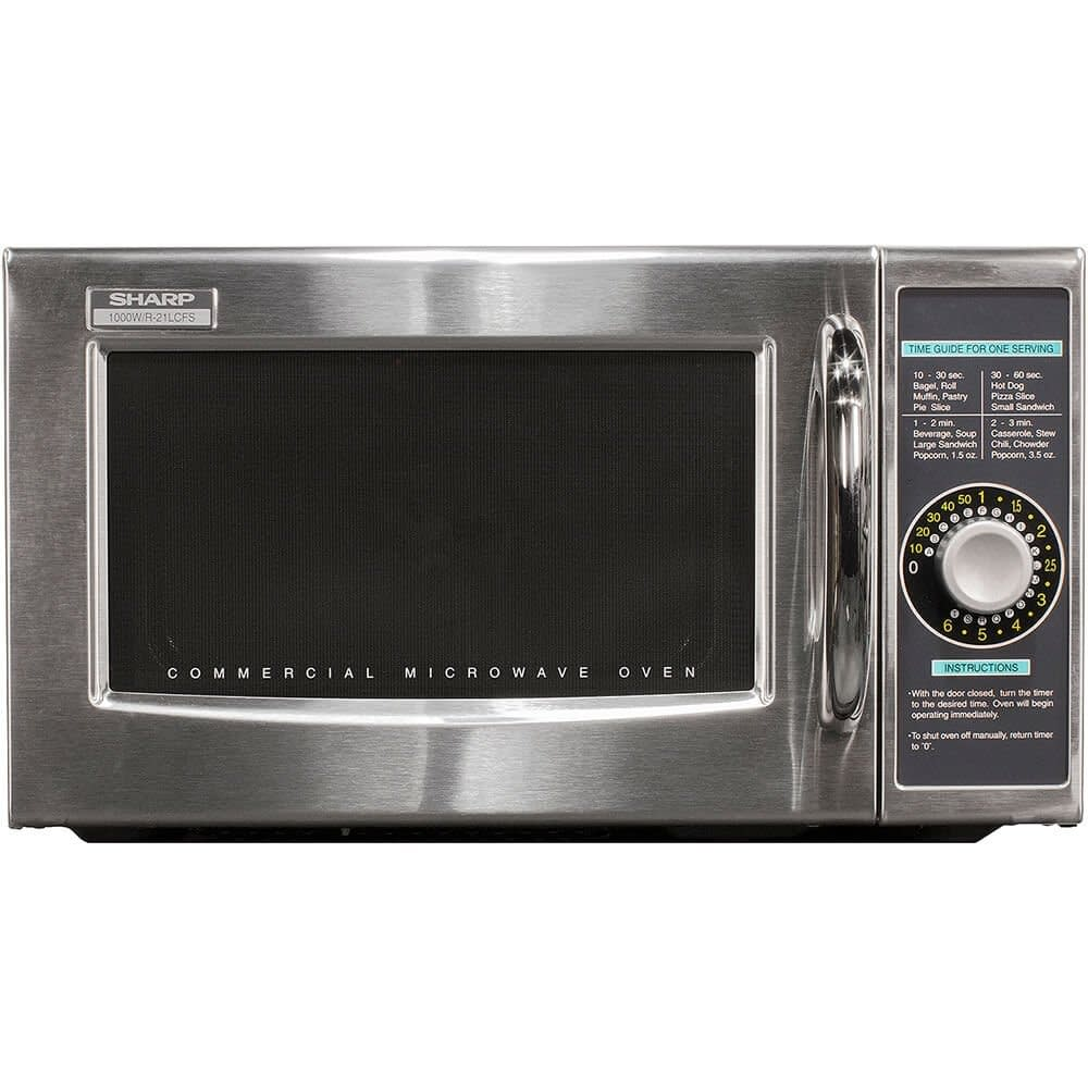 Sharp medium duty commercial microwave oven