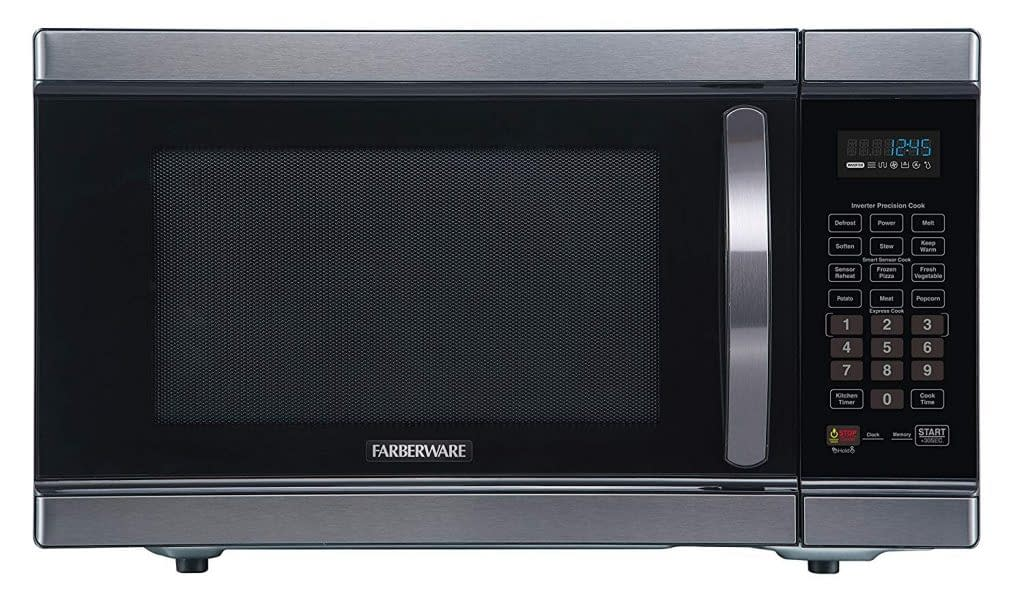 Smart Farberware inverter microwave oven for offices