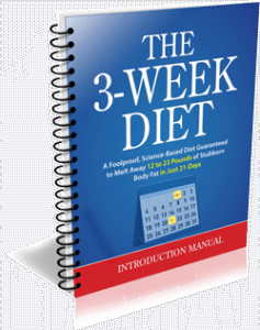 how to lose 20 pounds in 3 weeks with the diet plan booklet by Brian