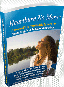 Best fast relief for Heartburn Book by Jeff Martin