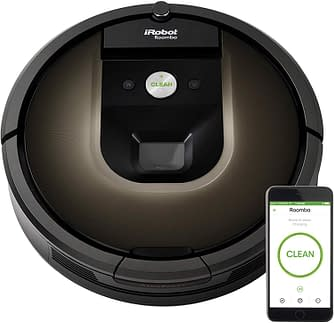 Roomba 980 Vacuuming Robot
