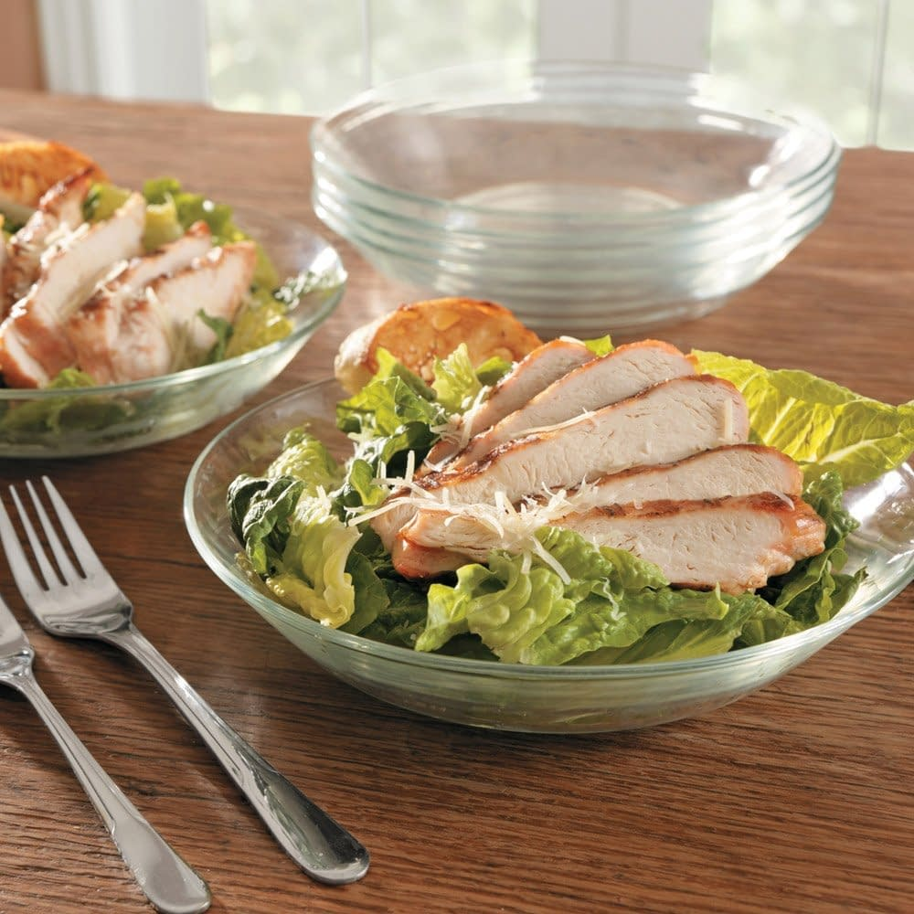 Duralex glass calotte dinnerware sets