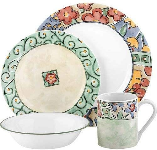 impression 16 piece dinnerware sets